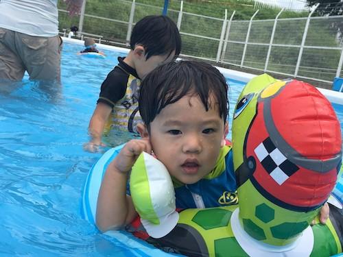 滋賀県唐橋公園のプールに行って来ました!