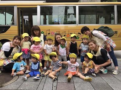 清水台幼稚園プール遊び