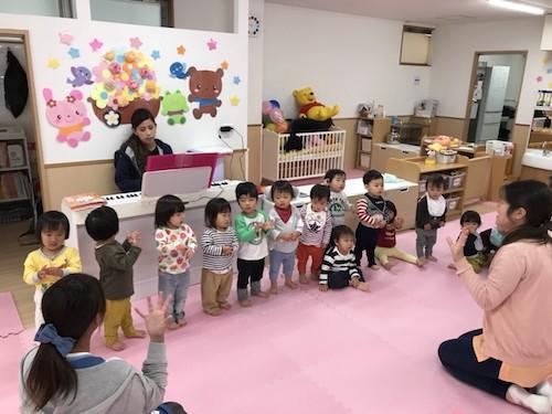 お手伝いしたよ😋&手作り楽器🥁♪ 長岡京園