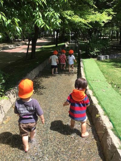 遠足🎶洛西浄化センター😊💕長岡京園