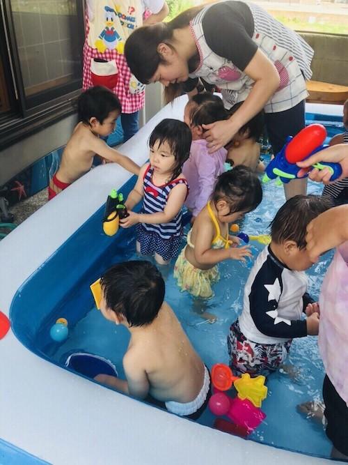 プール開き👙長岡京園