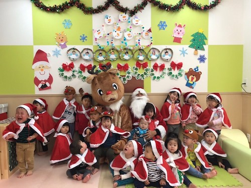 クリスマス会🎅🏻🎄 竹田園