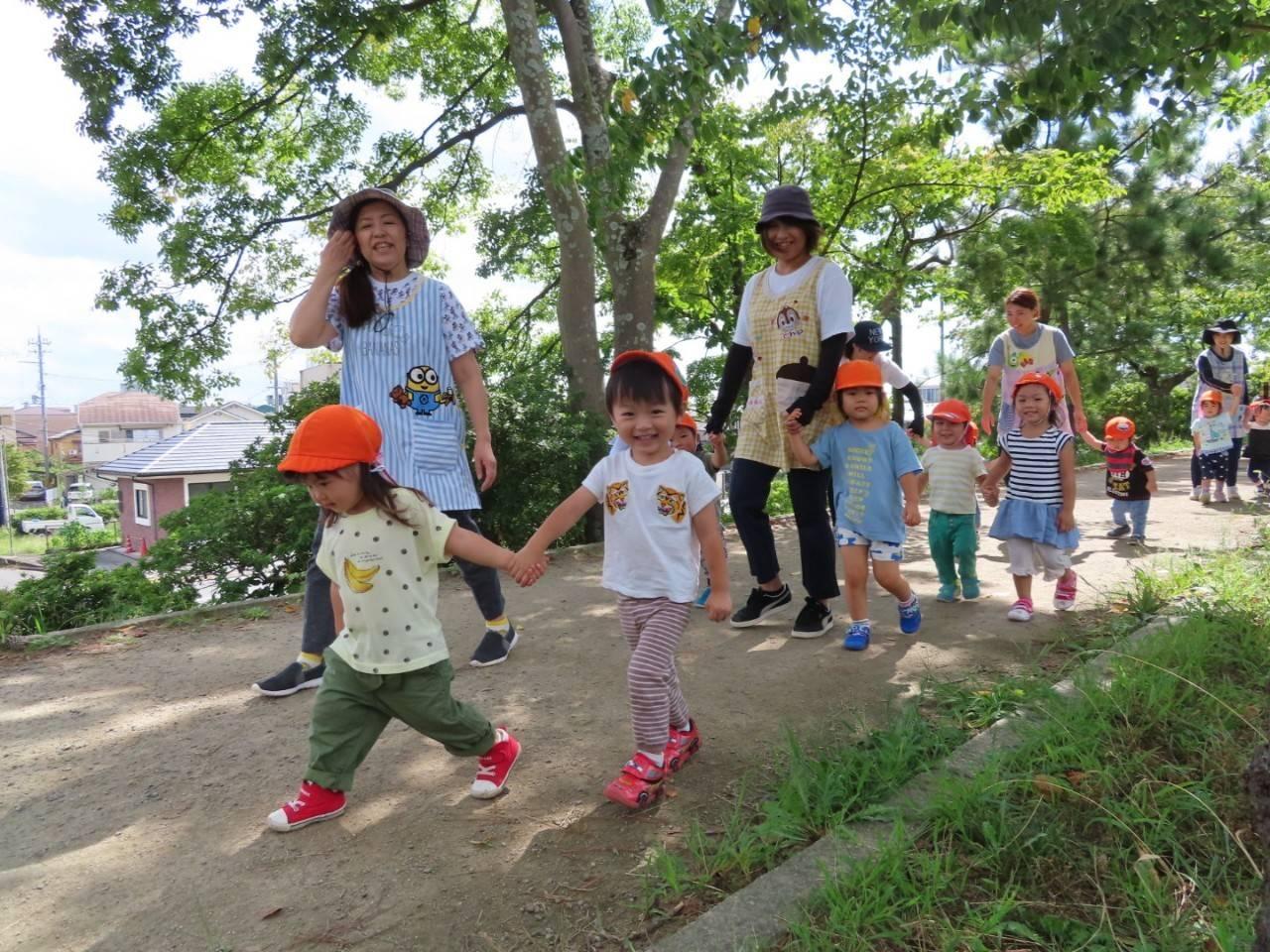 9月の子どもたち😀 長岡京園