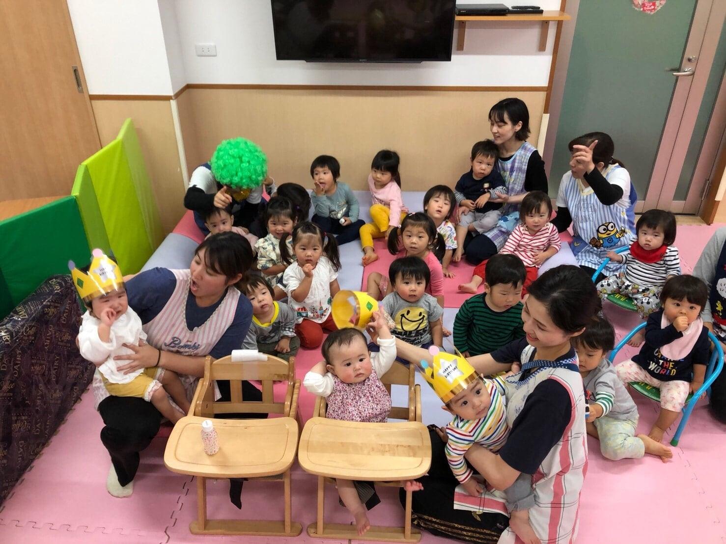 10月のお誕生日会🎂🎉&子どもたち🍂長岡京園 キャッチ画像
