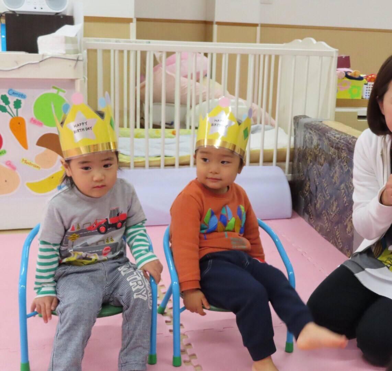 11月のお誕生日会🎉&元気な子どもたち😀 長岡京園 キャッチ画像