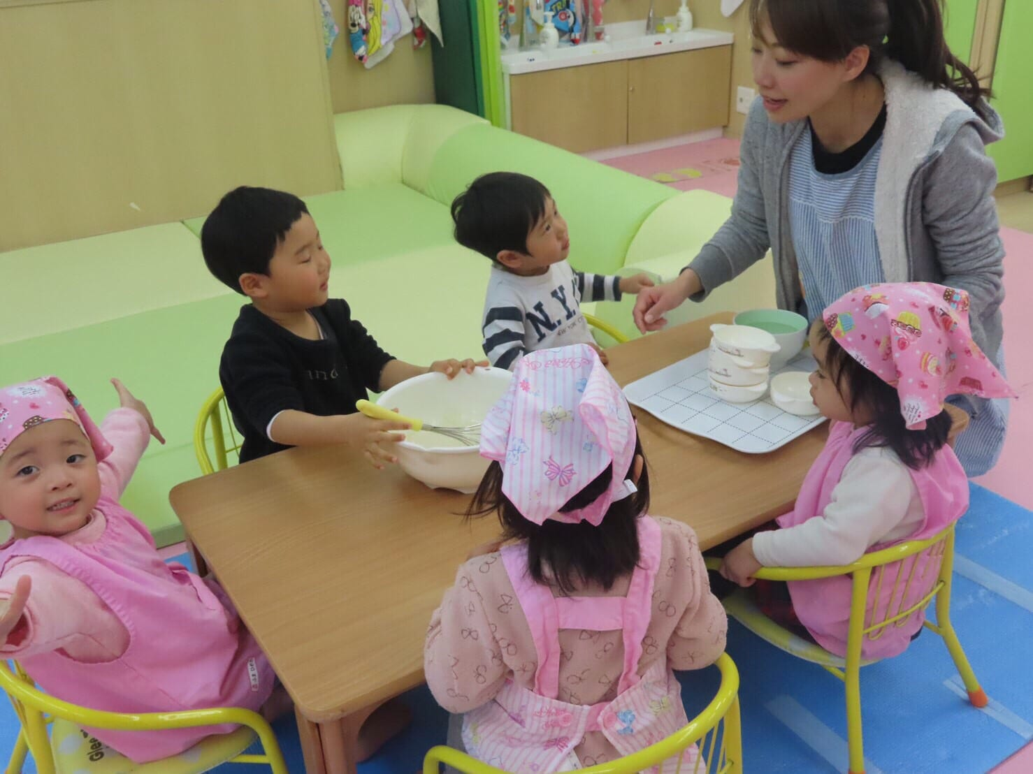 クッキング&1月お誕生日会🎂 竹田園