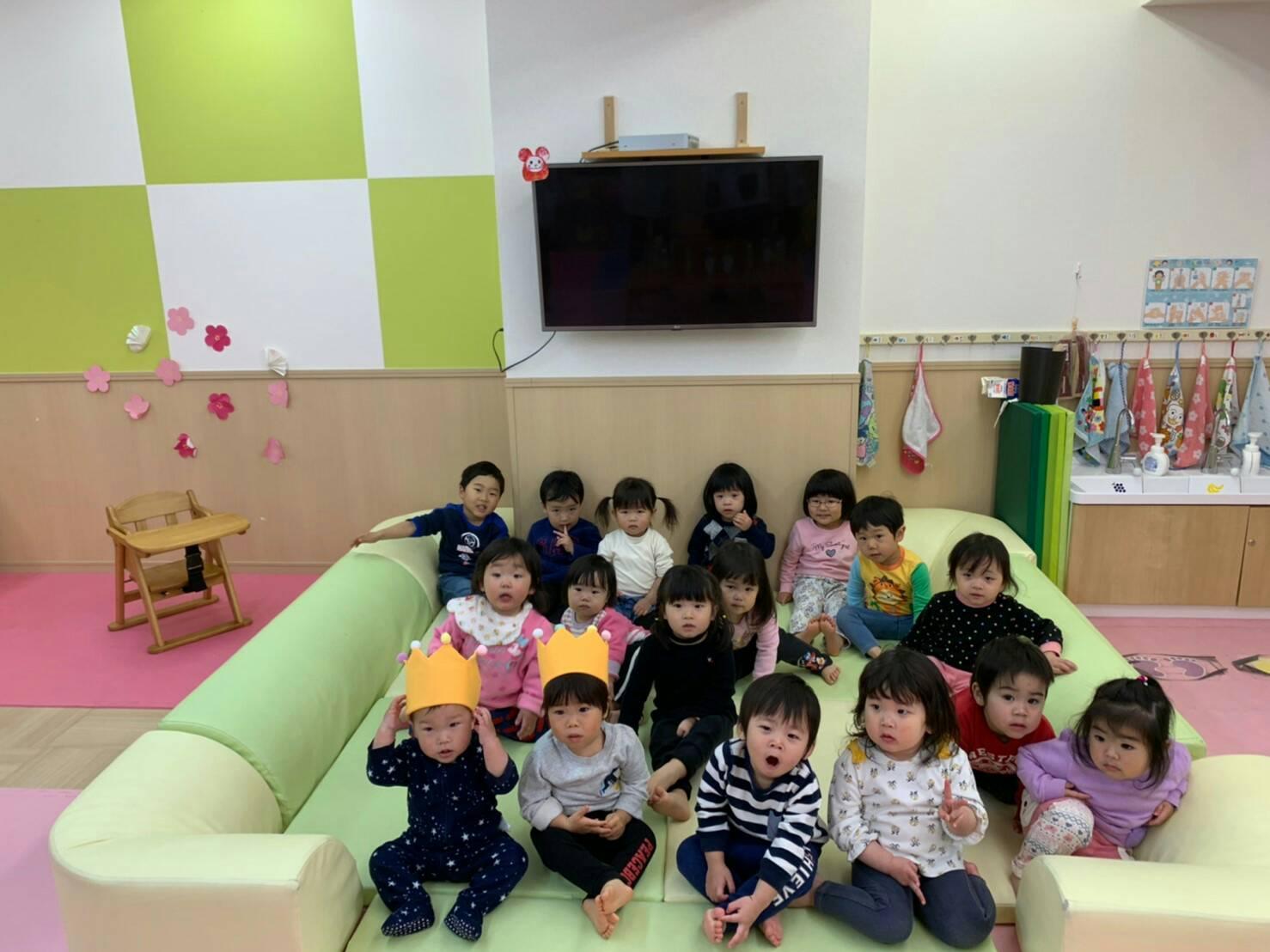 3月生まれのお誕生日会✨竹田園