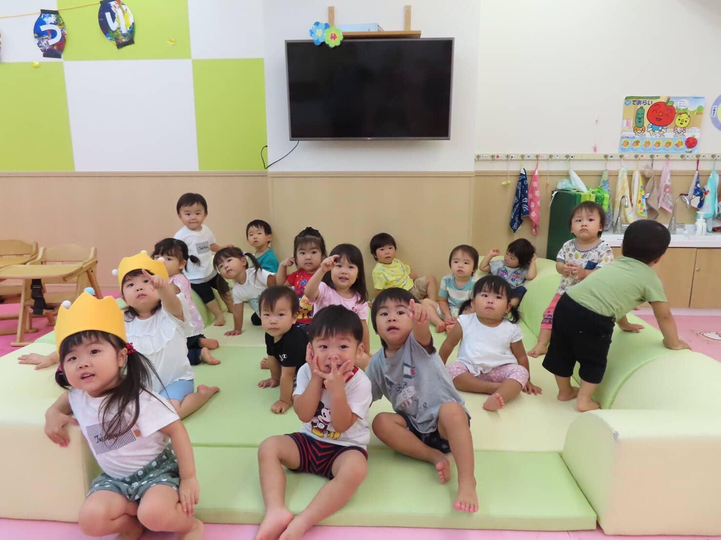 8月お誕生日会🥳🎉日常のあそび🎨 竹田園 キャッチ画像