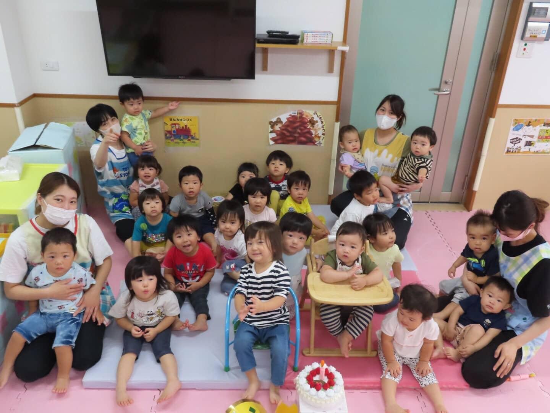 9月お誕生日会🎉長岡京園