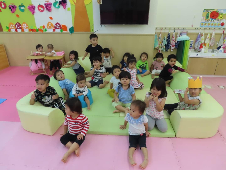 保護中: 9月のお誕生日会👑最近の子どもたち♪ 竹田園 キャッチ画像