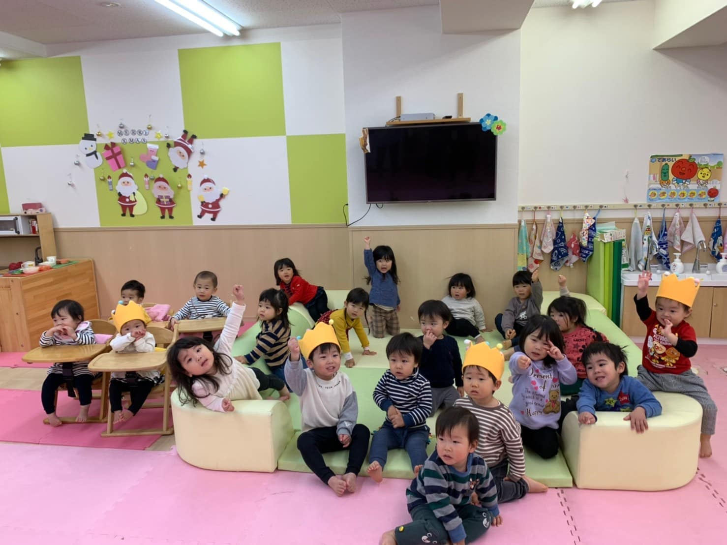保護中: 12月のお誕生日会🎂竹田園 キャッチ画像