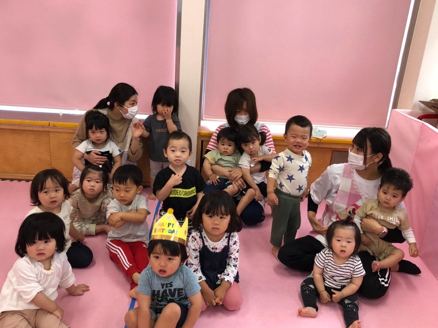 保護中: 🎂5月のお誕生日会🍰〜久我園〜